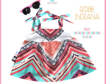 "Summer dress baby ""Indiana"""