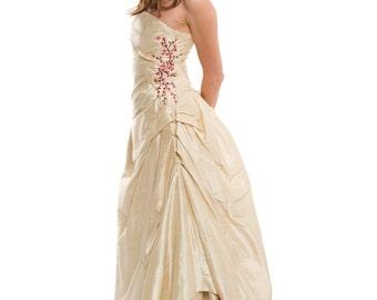 Cherry Blossom Wedding Dress, Sakura Blossom, Custom Made in your size
