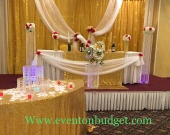 Set of 2 Chandelier Centerpiece/ Wedding Aisle Decoration/ Wedding Chandelier/