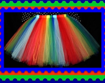 "25"" length tutu skirt      Custom Waist Sizing, Lining or unlined, You Choose your color(s)"