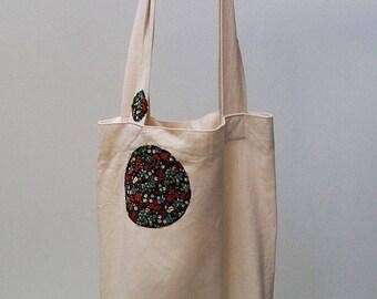 Tote Bag, Reusable Shopper Bag, Cotton Tote, Shopping Bag, Eco Tote Bag, Reusable Grocery Bag