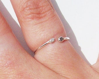 925 Silver Skinny Rings, Stacking Rings, Midi Rings , Knuckle Rings, mixed sizes, Boho