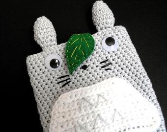 Totoro credit card holder Anime gifts Crochet pouch Card holder pouch Card holder women Studio Ghibli Anime bag Miyazaki My neighbor Totoro