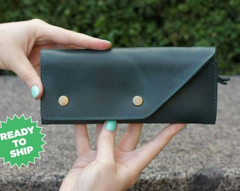 Leather wallet, women leather wallets,  leather wallet mens, vintage wallet, handmade, Leather purse
