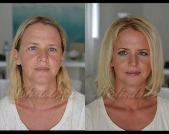 "Mineral Powder Foundation ""Satin Soft"" With Blur-Filter Effect, SPF 35 | 30 ml jar - Nt Wt 10g | Vegan | Mineral Makeup"