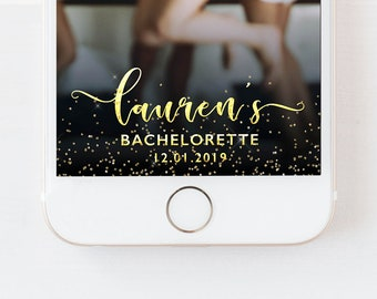 Snapchat Geofilter Hen Party Filter, Hen Party Snapchat Geofilter, Bachelorette Geofilter, Hen Party,Bridal Shower,Bach Party,Gold Hen Party