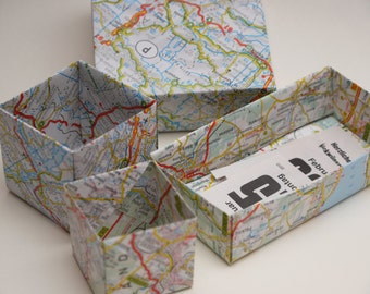 Origami-Paper MAP Recycled 10x10cm 25 sheets