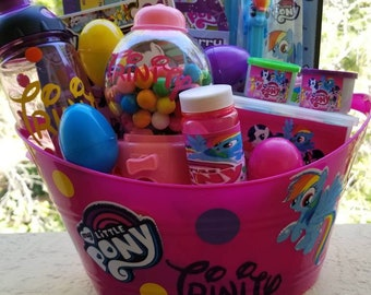 My little pony easter baskets