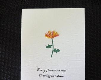 Mum sympathy card