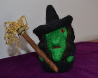 Wicked Witch of the West Needle Felt