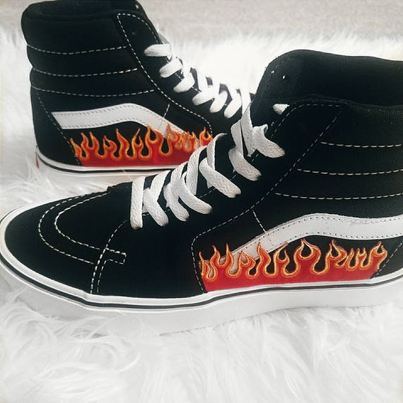 vans old skool fiamme