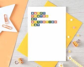 Funny Birthday Card - Funny Friend Card - Happy Birthday - For Brother - For Sister - Birthday Greetings - Birthday Joke - Blank - SE0266A6
