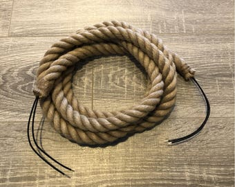 Wired Rope By The Foot For DIY Projects & Pendant Lights
