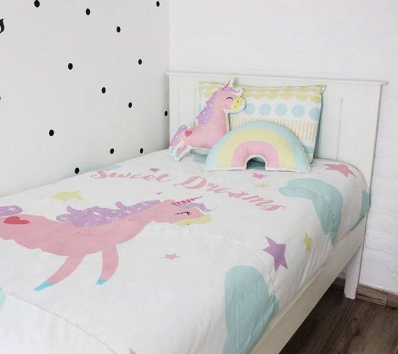 Kids Unicorn Bedding Set