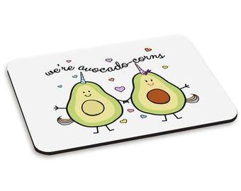 We're Avocadocorns PC Computer Mouse Mat Pad
