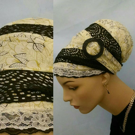 Exquisite silky soft yellow cotton sinar tichel, tichels, chemo scarves, head coverings, head scarves