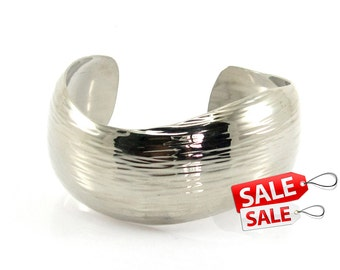 Silver Cuff Bracelet Silver Bracelet Cuff Brass Cuff Bracelet Brass Bracelet Cuff Wide Cuff Bracelet Silver Hammered Bracelet Cuff 009