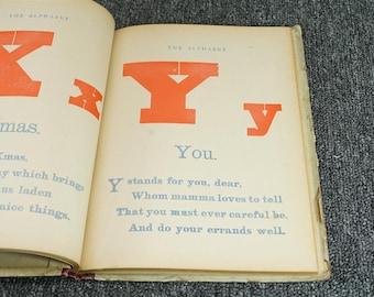 Home ABC Book By Benjamin Walter, C. 1902