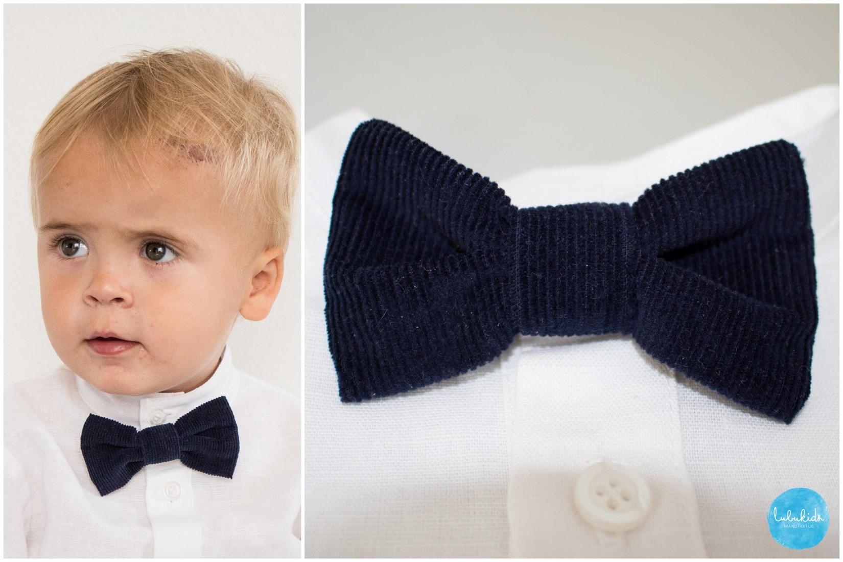Baby Fliege Bow Tie Kinderfliege Ringträger Outfit Hochzeit