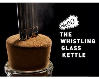 Chooo. The Whistling Glass Kettle.