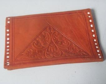Vintage butter soft embossed Wallet