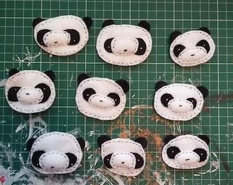 Felty Panda Badge