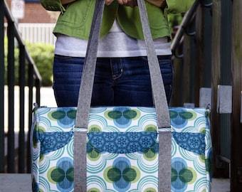 Road Tripper Duffle Bag PDF Sewing Pattern