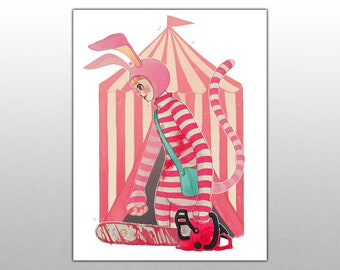 Popee the Performer [Small or Medium Print]
