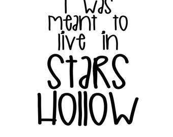 I was meant to live in Stars Hollow