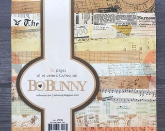 Bo Bunny 6x6 Paper Pad