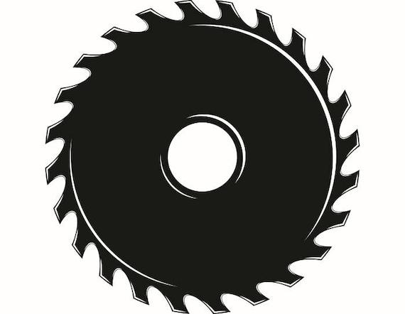 saw blade 1 hardware cutting cut shape wood tool handyman rh etsystudio com saw blade clipart saw blade clipart