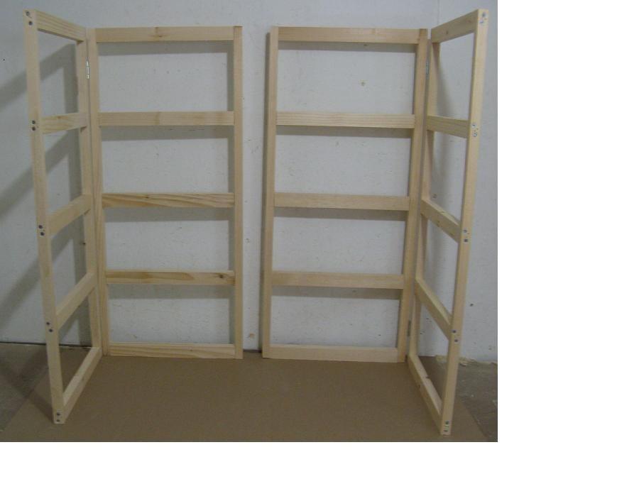 Craft Show Display Tabletop Folding Shelf