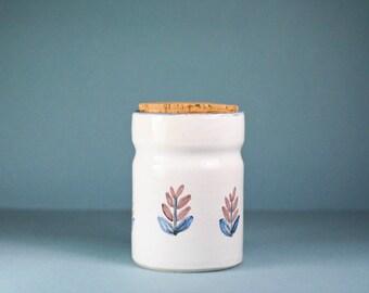 french vintage stoneware pot - handmaded -