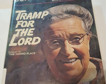 Corrie Ten Boom Tramp for the Lord Hardcover 1974