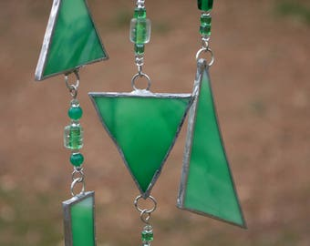 Stained Glass Chime, Sunchime, Stained Glass Sunchime, Glass Chime, Glass Suncatcher, Valentine's Day, Gifts for her, Mother's Day, Gifts