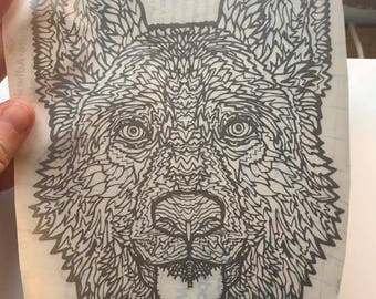 Decal of any dog breed