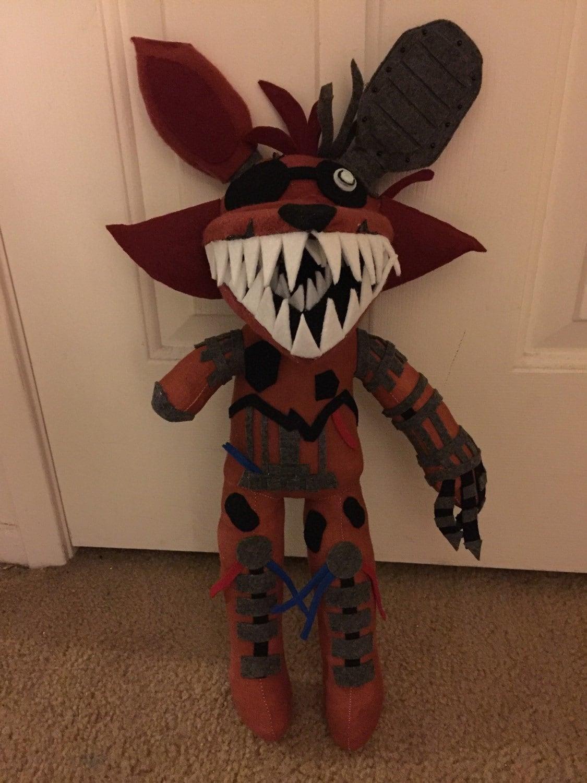 Phantom Foxy Plush From Five Nights At Freddy S 3 # Foxy Muebles Y Objetos