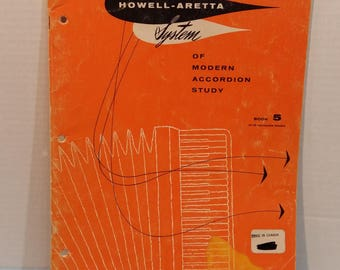 Howell Aretta System of Modern Accordion Study Book 5