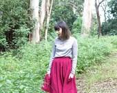 Jacaranda Skirt - Handmade by Alice