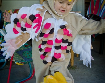 Owl Costume for Children Custom Made