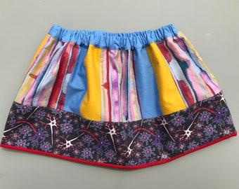 Neuron skirt, girls science skirt, size 4T/5T