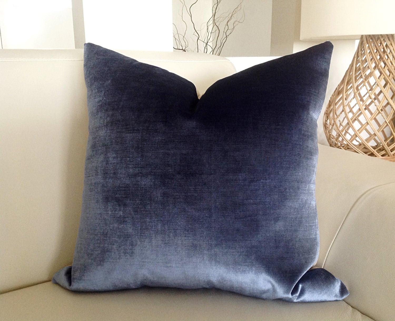 Velvet Cushions Navy Velvet Pillows Grey Velvet Cushion