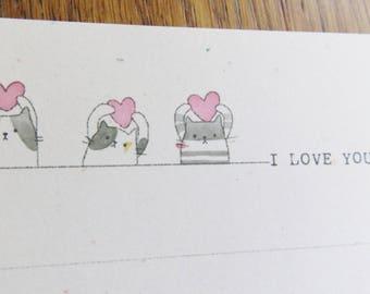 Regular paper / I love you too