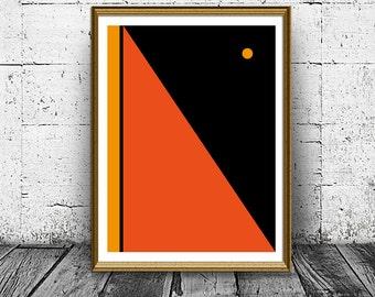 Geometric Art - Geometric Prints - Abstract Prints - Nordic Art - Minimalist Art Prints - Geometric Decor - Abstract Art