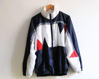 Minimalistic Casual Color Blocks jacket