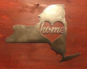 New York Home Sign