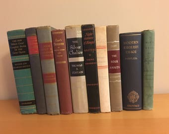 Old Books, Instant Library, Photo Prop