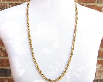 Chain Necklace, Chunky Chain Necklace, Chunky Chain, Link Chain, Chunky Gold Necklace, Chunky Gold Chain, Vintage Chain, Gold Chain
