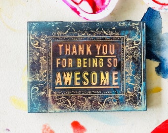 Thank You For Being So Awesome!