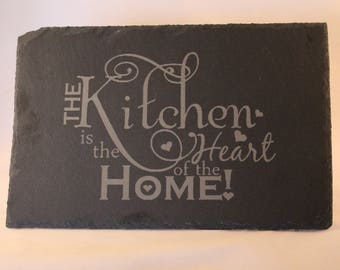 Heart of the Home Slate Placemat
